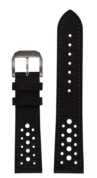 RACEMASTER Calf leather strap Racing Design (23 mm)
