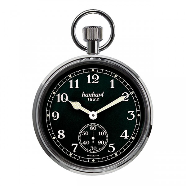 "Pocket Watch ""Board Time"" black"