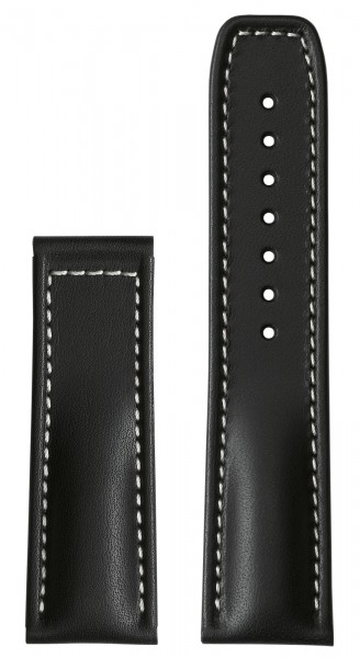 PRIMUS Calf leather strap black (without clasp)
